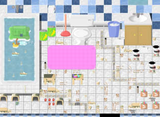 Toy Based RPG - Bathroom production facility