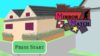 Mirror Match - Title screen concept